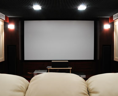We can install a home cinema for you