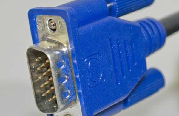 Image of VGA connector for network cabling installer in Croydon, London