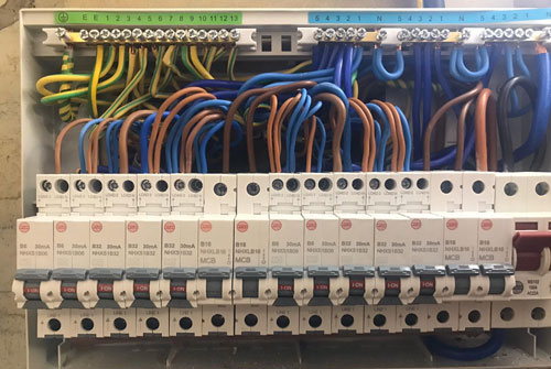 Consumer unit repair, EICR inspection